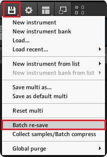 How to Batch Resave in Kontakt – Support Centre